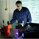 Computational photography:  MIT's Ramesh Raskar [Photo from The New York Times]