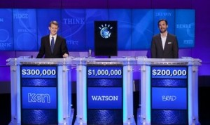 JEOPARDY! IBM Challenge (Photo courtesy AP/JEOPARDY! Productions)