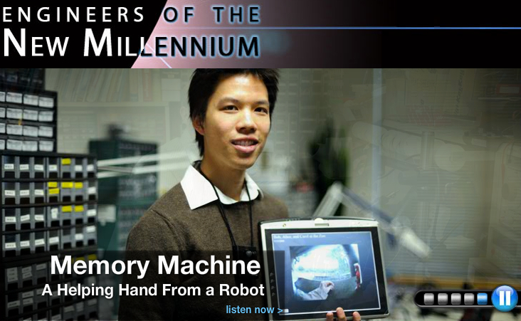 NSF/IEEE Spectrum Radio Special Report:  Engineers of the New Millennium [image courtesy NSF]
