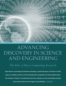 Data Analytics:  Advancing Discovery in Science and Engineering