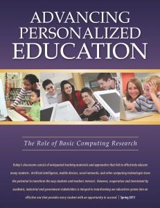 Toward Personalized Education