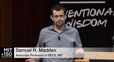 """Sam Madden, MIT CSAIL, on """"The Rise of Mobile Data"""""""