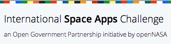 NASA's International Space Apps Challenge [image courtesy NASA].