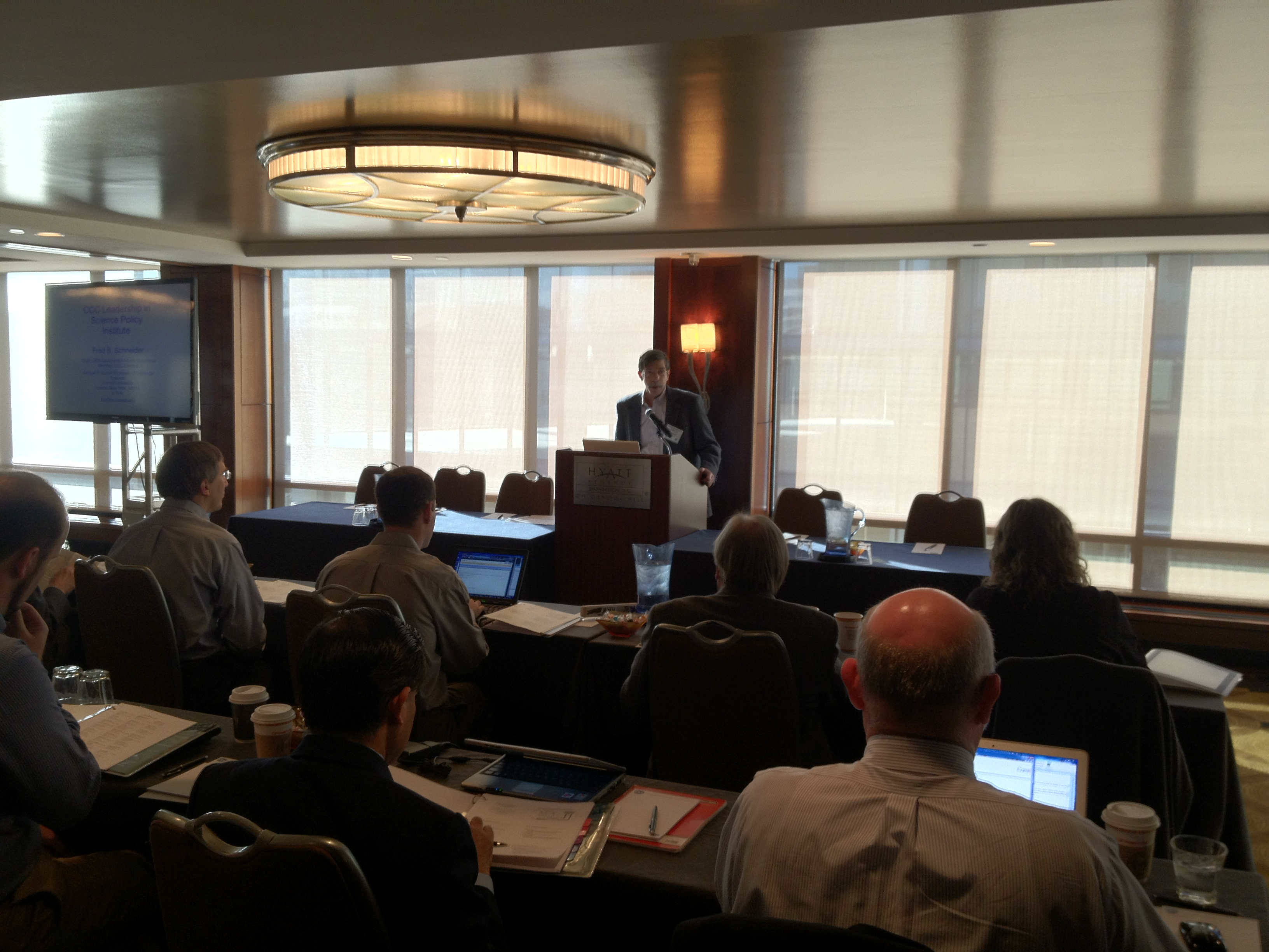 The Leadership in Science Policy Institute (LiSPI) kicks off in Washington, DC, this morning.