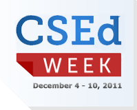 2011 Computer Science Education Week [image courtesy CSEdWeek.org].