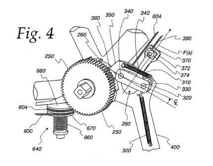 A drawing from Patent No. 8033945 [image courtesy OSTP Blog].