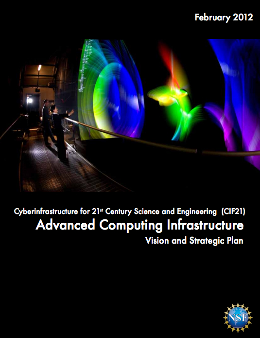 NSF issues a vision and strategic plan for Advanced Computing Infrastructure (ACI) [image courtesy NSF].