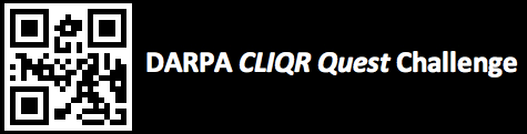 DARPA's CLIQR Quest Challenge [image courtesy DARPA].