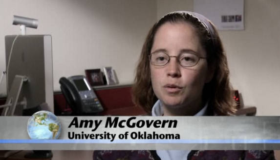 Amy McGovern, University of Oklahoma [image courtesy NSF/Science Nation].