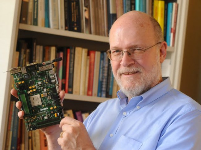 David Waltz, former CCC Council member, spearheaded advances in artificial intelligence [image courtesy Eileen Barroso for Columbia Engineering via The New York Times].