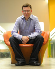 Luis von Ahn, Carnegie Mellon University and Duolingo [image courtesy Justin Merriman/New York Times].