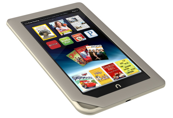 The NOOK Tablet(TM) by Barnes & Noble [image courtesy PCWorld].