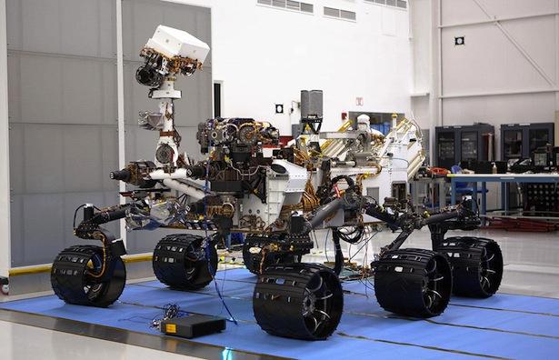 Mars Science Laboratory [image courtesy NASA].
