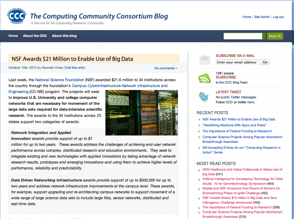CCC Blog