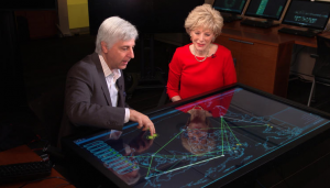 Dan Kaufman and Lesley Stahl CBS NEWS