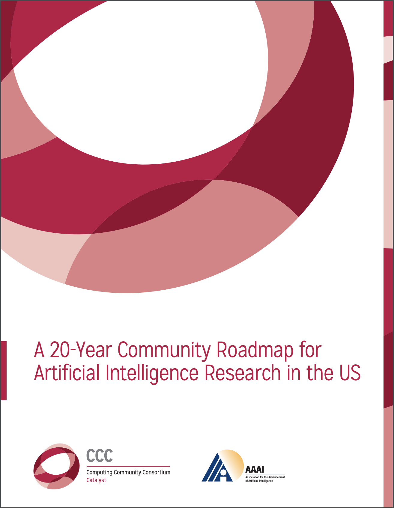 A 20-Year Community Roadmap for AI Research in the US is Released